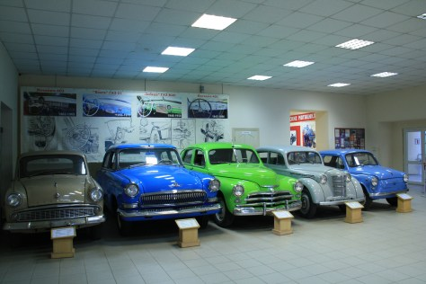 Cars in Automobile Museum, Vladivostok