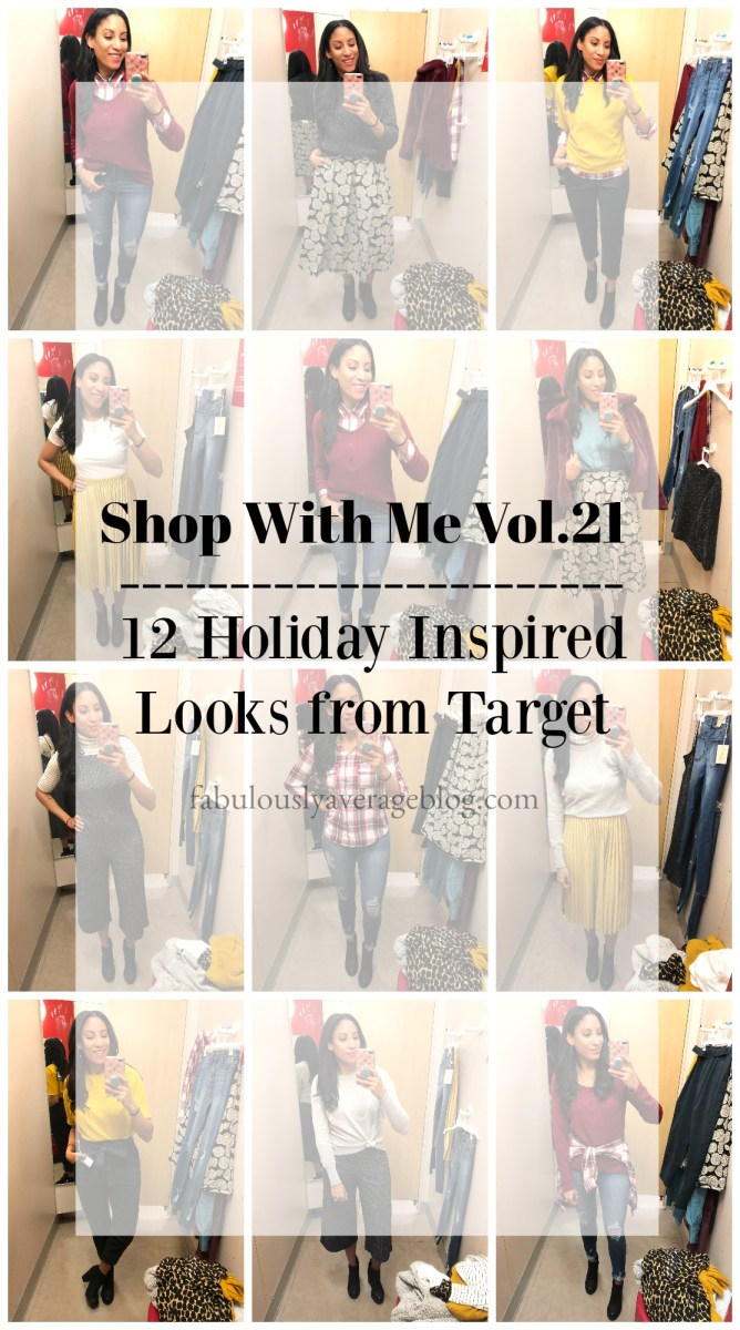 Shop With Me Vol. 21 - 12 Holiday Inspired Looks from Target