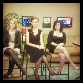 Before our segment on FOX 45 News February 2012