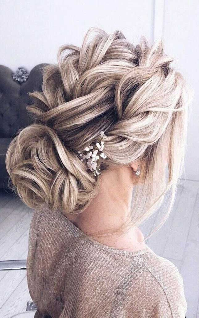 57 Gorgeous Wedding Hairstyles From Updo To Ponytails Fab