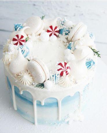 25 Super pretty festive winter wedding cakes ever, winter wedding cake ideas, best winter wedding cakes, winter cake designs #weddingcakes #wintercakes #cakedesigns