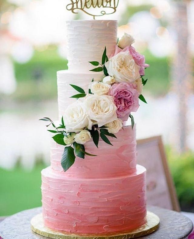 Beautiful Wedding Cake Trends For 2020 - 13, wedding cakes, wedding cake ideas, wedding cake, wedding cake trends, wedding cake trends 2020, spring wedding cake , wedding cake designs, wedding cake pictures #weddingcakes