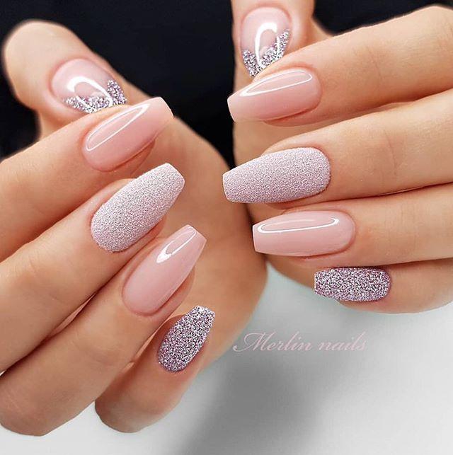 pretty spring nail trends 19