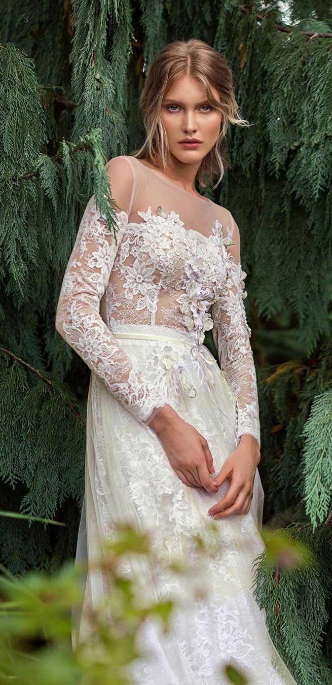 100 the most incredible wedding dresses , long sleeve a line wedding dress, a line wedding dress with sleeves #weddingdresses