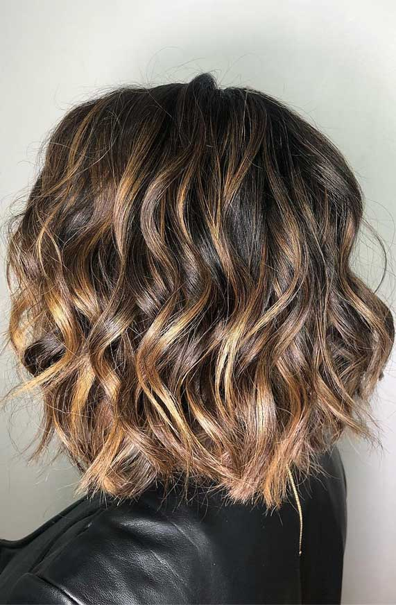 Wavy Hairstyles Short Hair 57