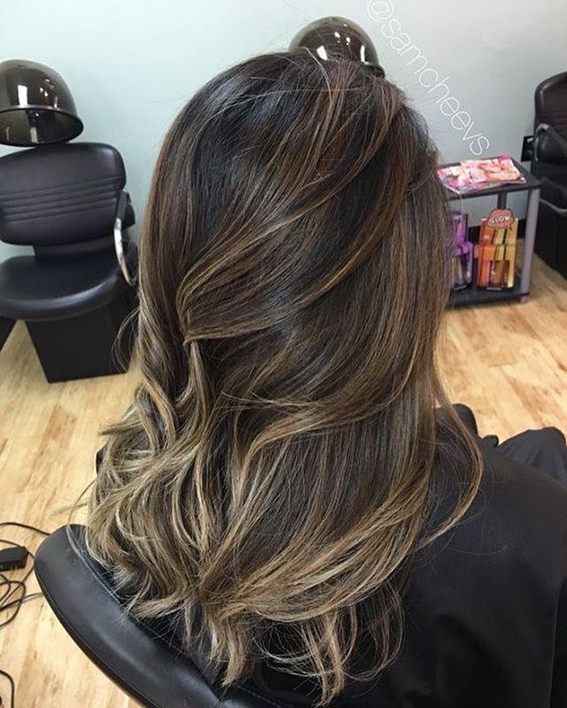 balayage hair color ideas , brown honey hair color, fall hair color #haircolor #balayage #hair