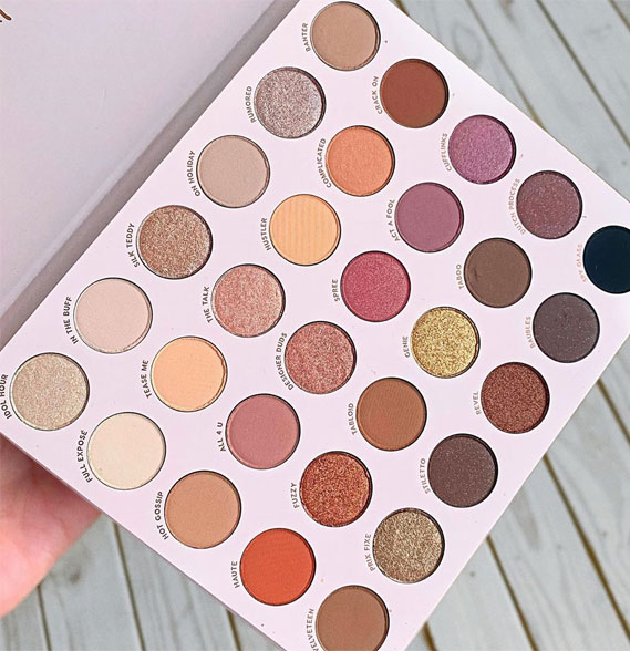 makeup products, best makeup products, mac shimmering, eyeshadow, bare necessities palette, makeup palette #makeuppalette #makeupproducts colourpop cosmetics
