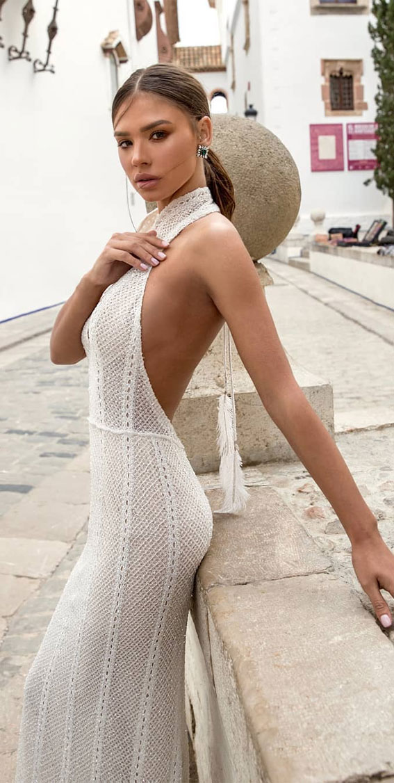 37 Trendy & Hot Sexy Wedding Dresses : wedding dress, wedding dresses, hot wedding dress, hot wedding dresses, sexy wedding dress , sexy wedding dresses, halter neck wedding dress