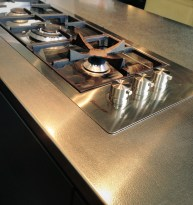 Patterned Stainless Worktop