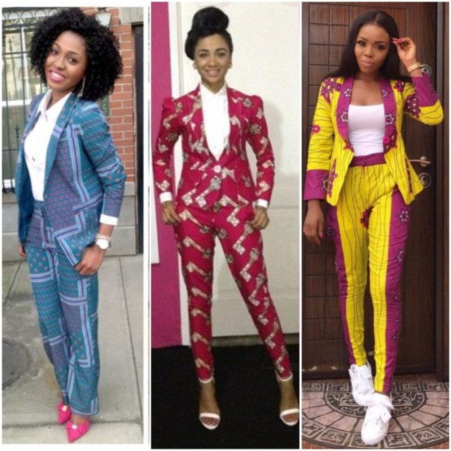 Image result for Ankara Suit