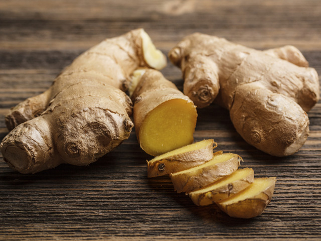 Ginger is blood thinner and prevents heart strokes