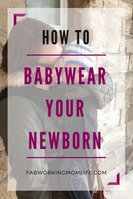 how to wear your baby