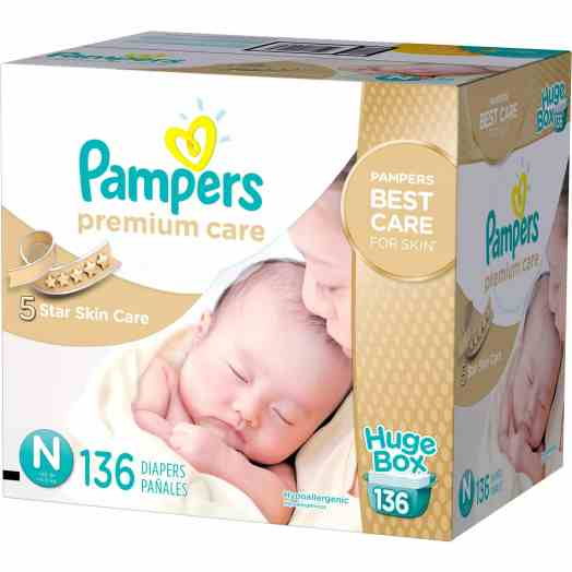 Pampers Premium Care at Walmart