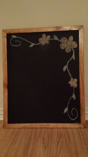 wooden chalkboard skilled smith workshop