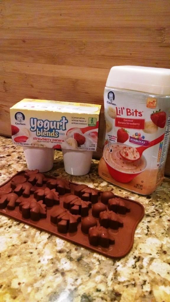 Dino frozen yogurt bite ingredients