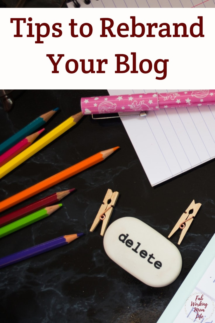 Tips to Rebrand Your Blog