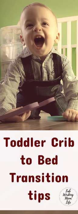 Toddler Crib to Bed Transition Tips #parenting #toddlers