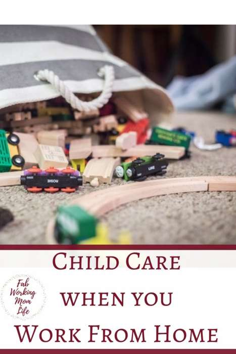 Child Care when you work from home