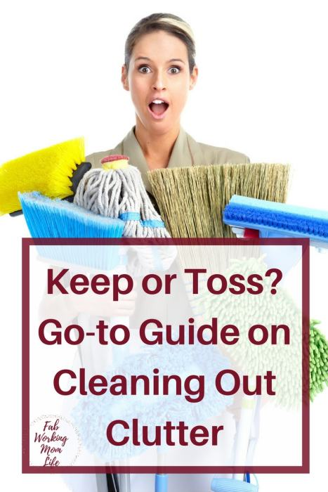 Keep or Toss? Your Go-To Guide on Cleaning Out Clutter