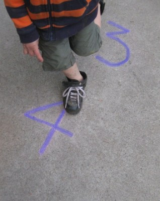 Numbers physical activity for Preschoolers