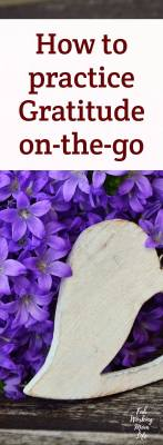 Myths about Gratitude and how to practice Gratitude on-the-go #gratitude #thankful