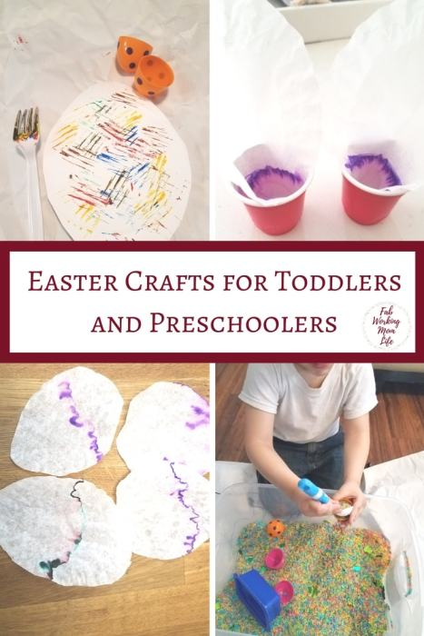 Easter Crafts and Activities for Toddlers and Preschoolers | Fab Working Mom Life | #toddlers #preschoolers #easter #eastercrafts