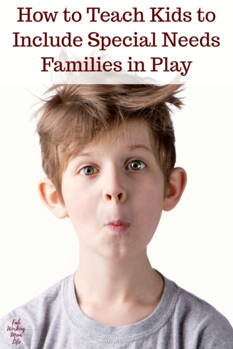 How to Teach Kids to Include Special Needs Families in Play | Fab Working Mom Life | special needs kids, autism, autistic, ASD, parenting, toddlers, children, motherhood, parenting with special needs