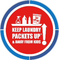 Keep your Toddlers Safe in the Laundry Room with Packets Up!