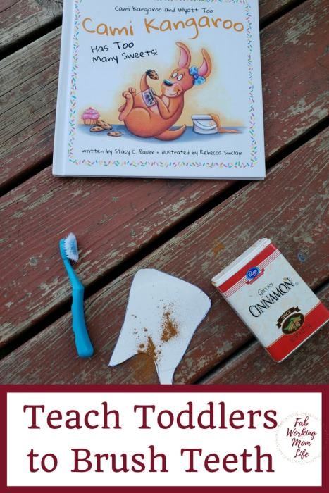 Teach Toddlers to Brush their Teeth | Fab Working Mom Life #toddlers #parenting #preschool #kindergarten
