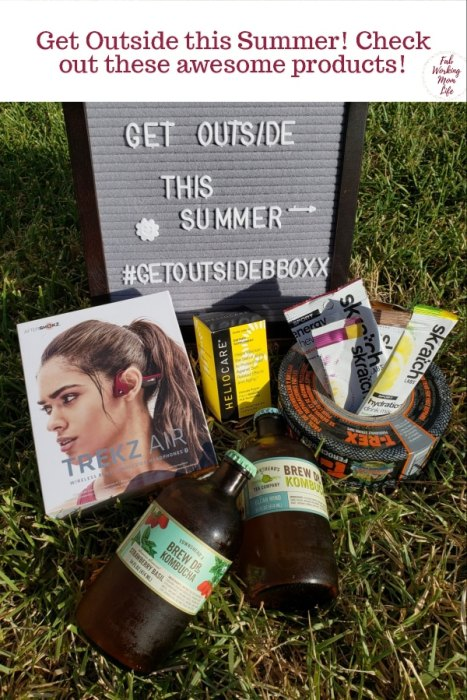 Get Outside This Summer #GetOutsideBBoxx | Fab Working Mom Life #summervacation #summerbreak #fitness