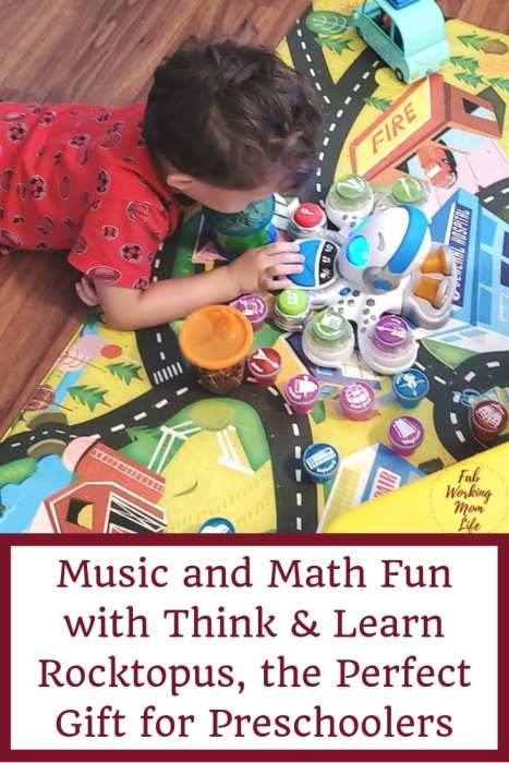 Music and Math Fun with Think & Learn Rocktopus, the Perfect Gift for Preschoolers | Fab Working Mom Life
