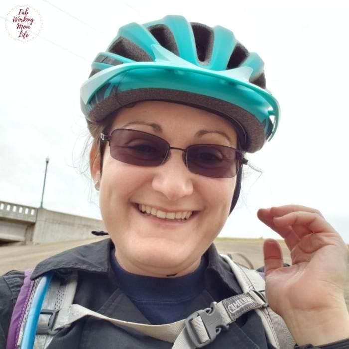 Julie bike helmet