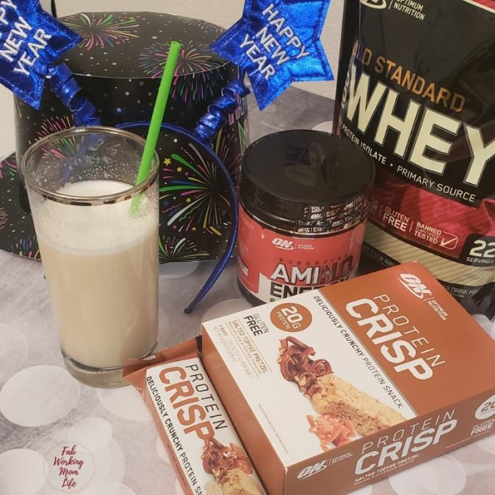 Optimum Nutrition Protein Crisp, Amino Energy, Gold Standard Whey