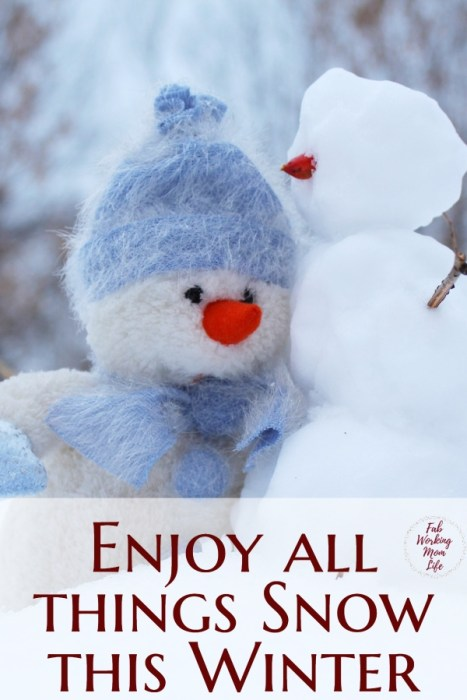 Enjoy winter and all things snow with this fabulous roundup of snow-related activities including snow vacations, snow sensory play, and snowman crafts!