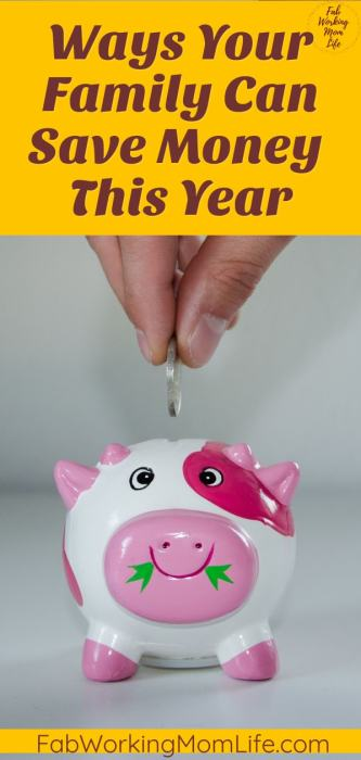Ways Your Family can Save Money This Year