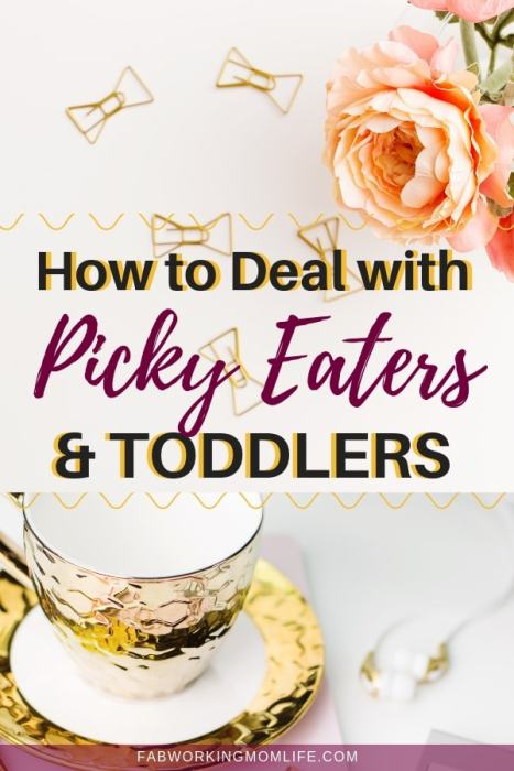 how to deal with picky eaters toddlers