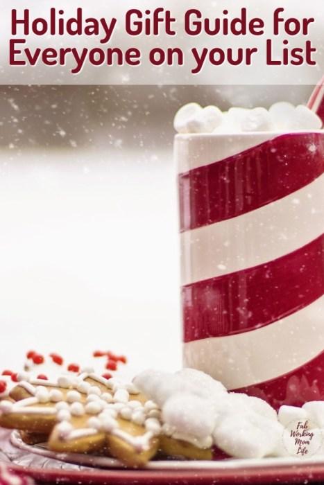 Holiday Gift Guide Santa Plate