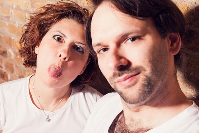 Fabiana and Carlo Nicora From London Boudoir to Faby and Carlo