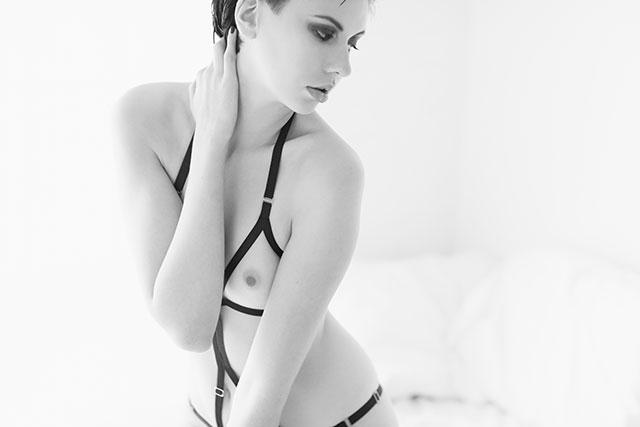 Leurre Lingerie Bespoke Luxury Boudoir Underwear shoot by Faby and Carlo