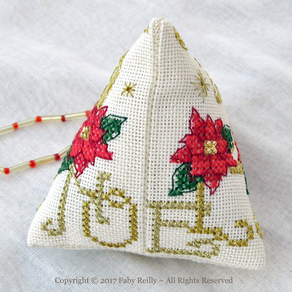 Poinsettia Humbug - Faby Reilly Designs