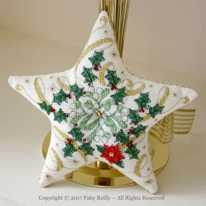 Sparkly Christmas Star - Faby Reilly Designs