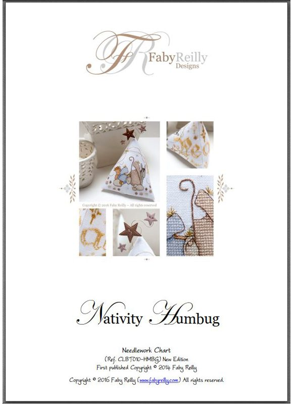 Nativity Humbug pattern cover