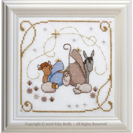 Nativity Frame – Faby Reilly Designs