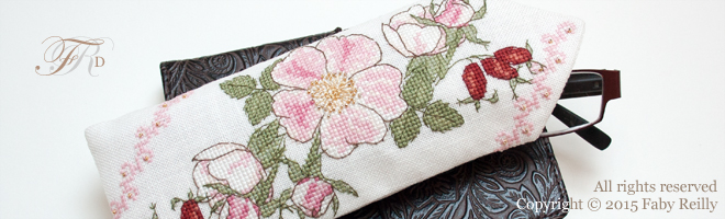 Wild Rose Glasses Case