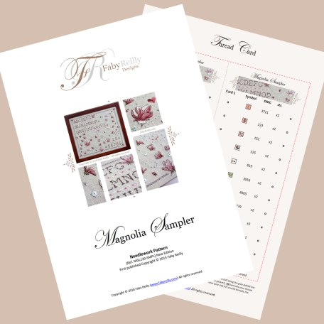 Magnolia Sampler featured pages