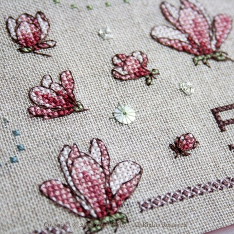 Magnolia Sampler – Faby Reilly Designs