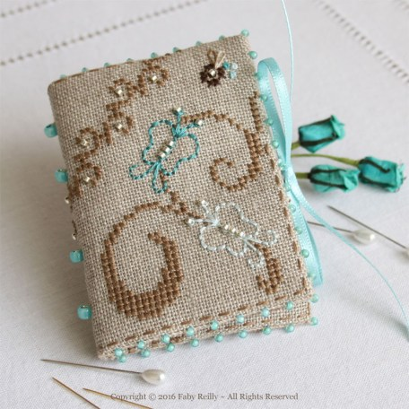Butterfly Needlebook - Faby Reilly Designs