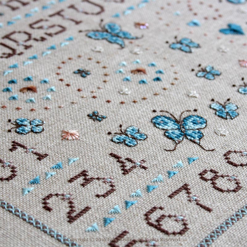 Butterfly Sampler - Faby Reilly Designs