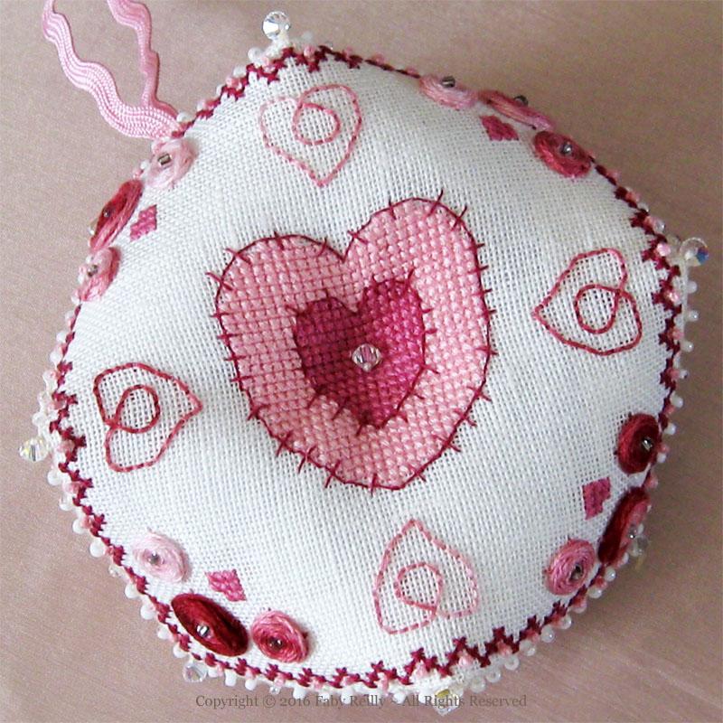 Heart Biscornu