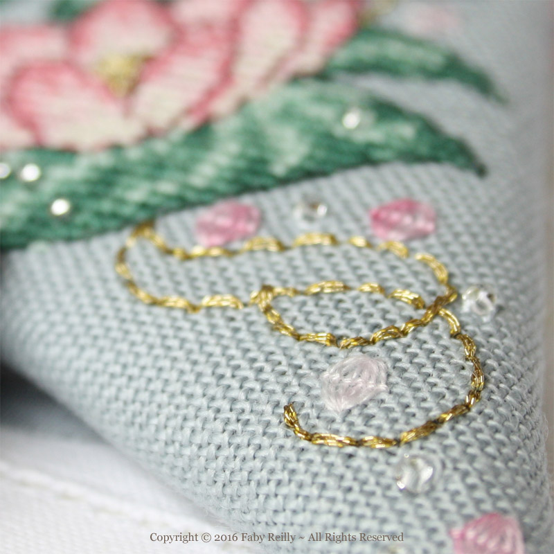 Pink Lotus Scissor Case